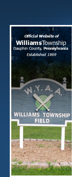 Official Site of Williams Township, Dauphin County, Pennsylvania